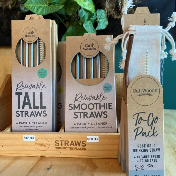 Caliwoods Straws
