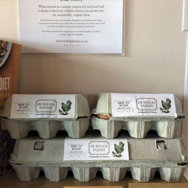 Durham Farms Organic Eggs