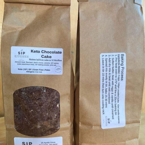 Keto Chocolate Cake & Muffin Mix